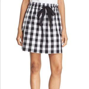 Kate Spade Broome St Gingham Skirt